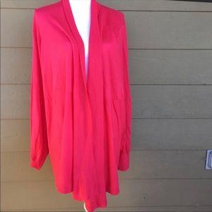 Liz Claiborne Open Front Cardigan Size 2X
